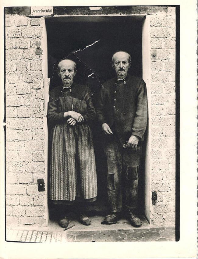 Fotocollage zweier Personen.