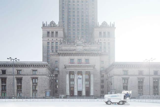 Der Kulturpalast in Warschau.