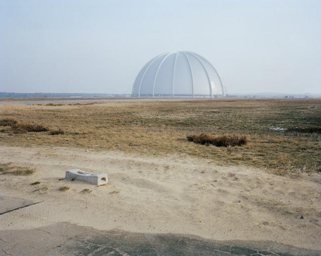 Eine Kuppel in der Landschaft