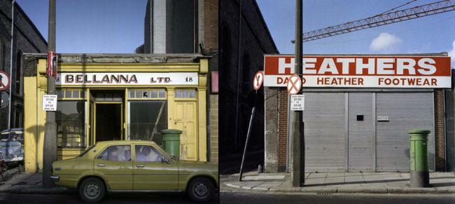 Straßenszenen in Bellana Heathers, Dublin