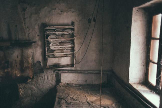Ein verlassenes Zimmer