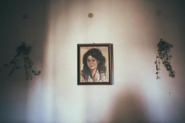 Ein Bild an der Wand