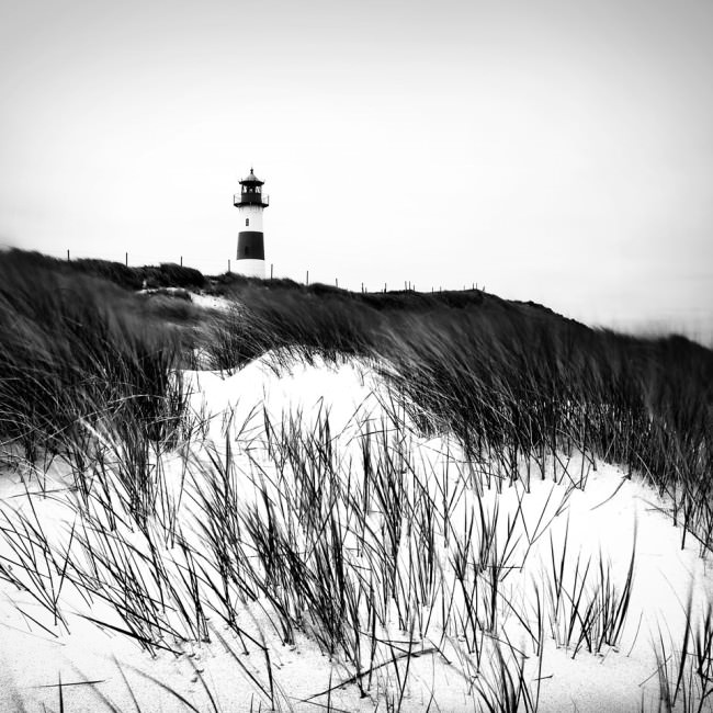 Leuchtturm am Meer.