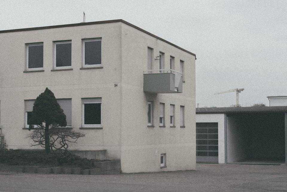 Ein hässliches Gebäude