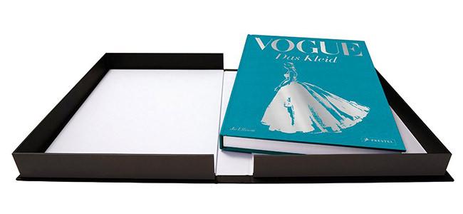 Darstellung des Buches Vogue: Das Kleid im offenen Schuber