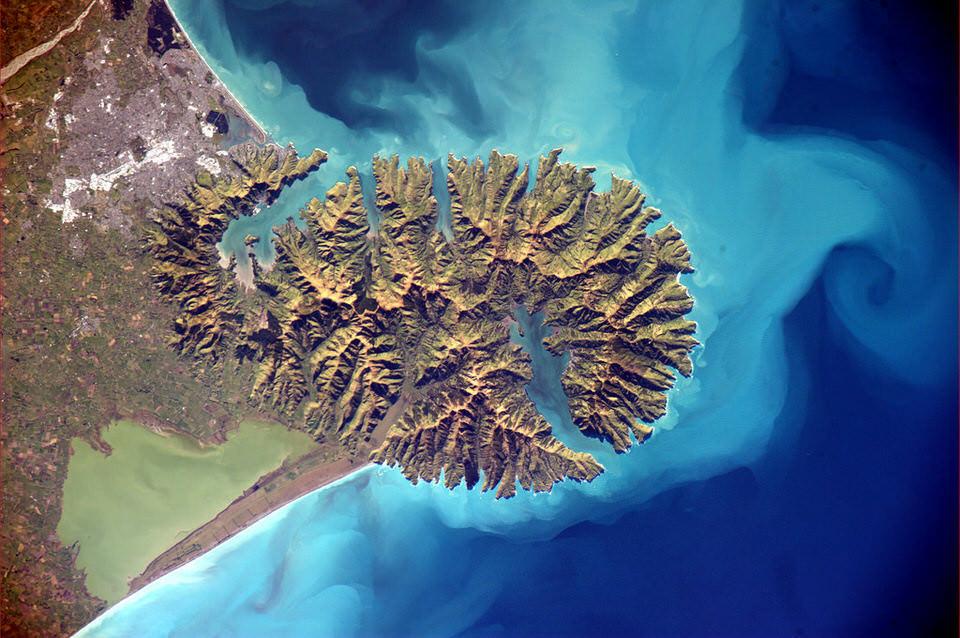 Neuseeland von oben