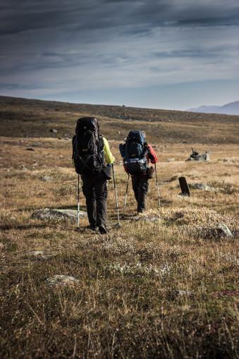 Zwei Wanderer.