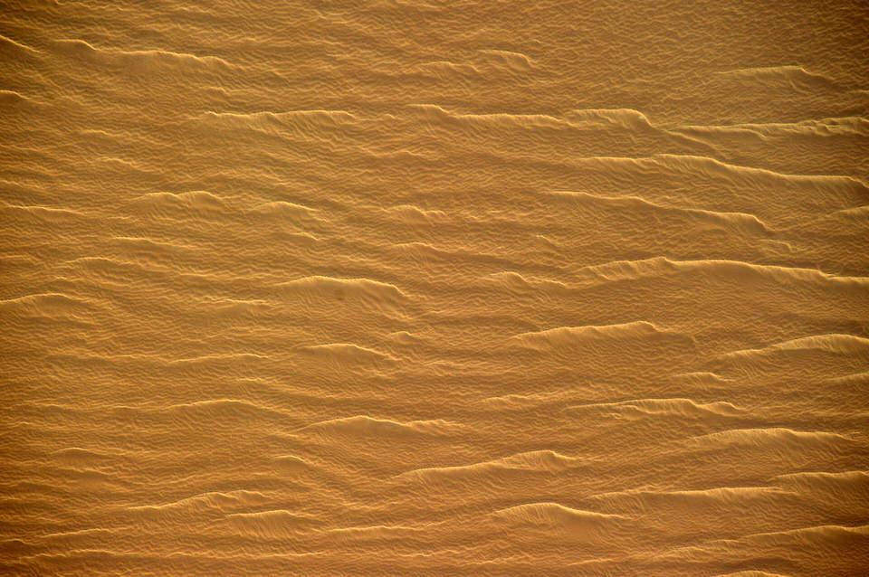 Die Sahara von oben