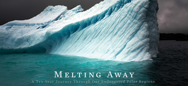 Buchcover des Titels Melting Away