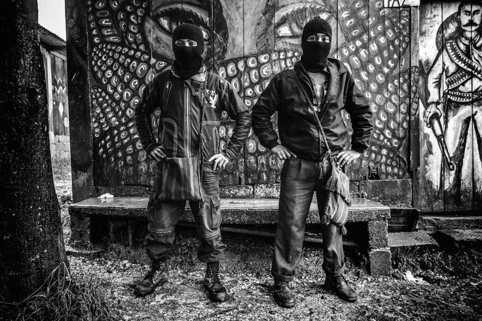 Mitglieder der Zapatista-Bewegung