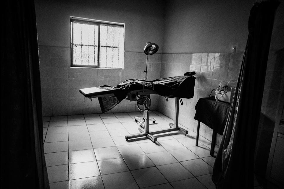 Operationsraum einer Zapatista-Klinik