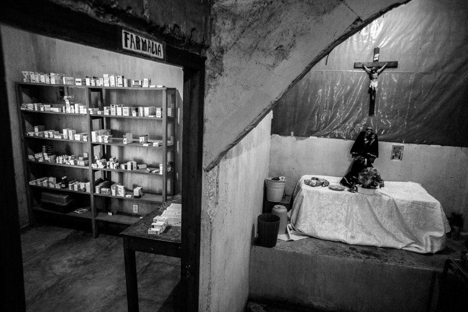 Altar in einer Klinik