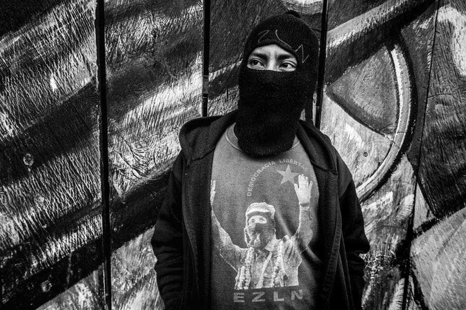 Mitglied der Zapatista-Bewegung
