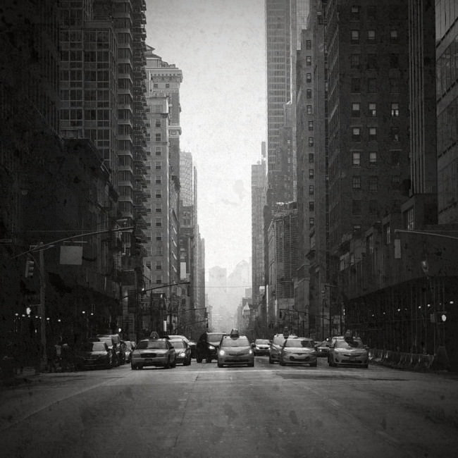 New Yorker Straßenschlucht