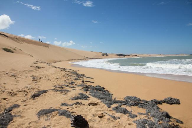 Sandstrand am Meer.