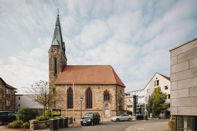 Kirche im Stadtzentrum