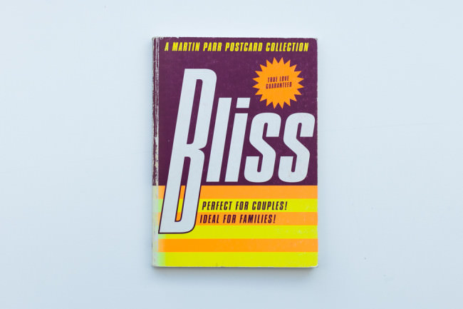 Titelseite des Bandes Bliss von Martin Parr