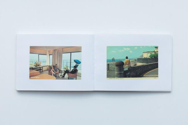 Beispielseite des Bandes Boring Postcards von Martin Parr