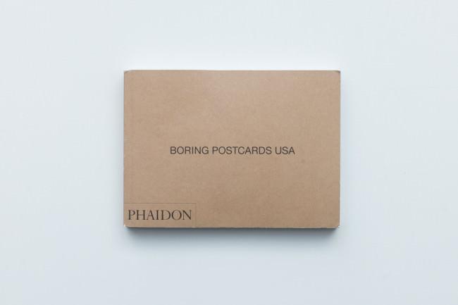 Titelseite des Buches Boring Postcards USA von Martin Parr
