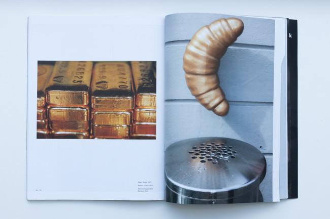 Beispielseite des Du Magazin mit Fotos von Martin Parr