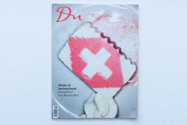 Titelseite des Du-Magazines mit Fotos von Martin Parr