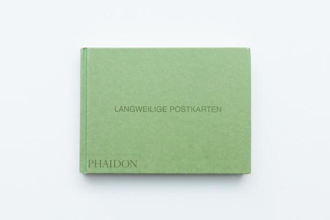 Titelseite des Buches Langweilige Postkarten von Martin Parr