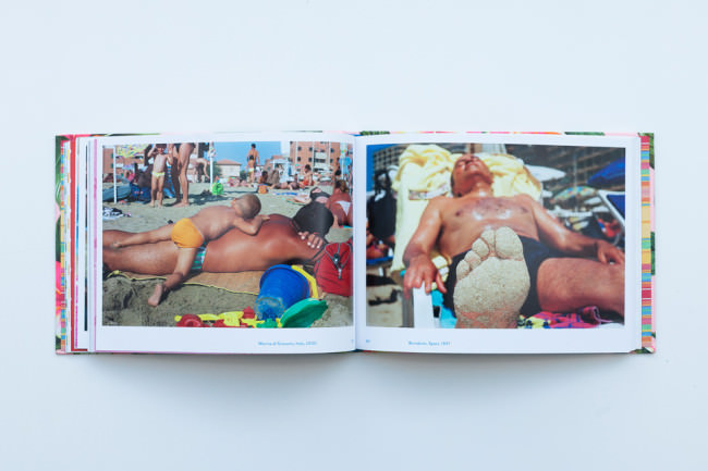 Beispielseite aus dem Buch Life Is A Beach von Martin Parr