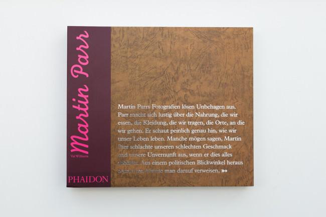 Titelseite des Buches Martin Parr von Val Williams