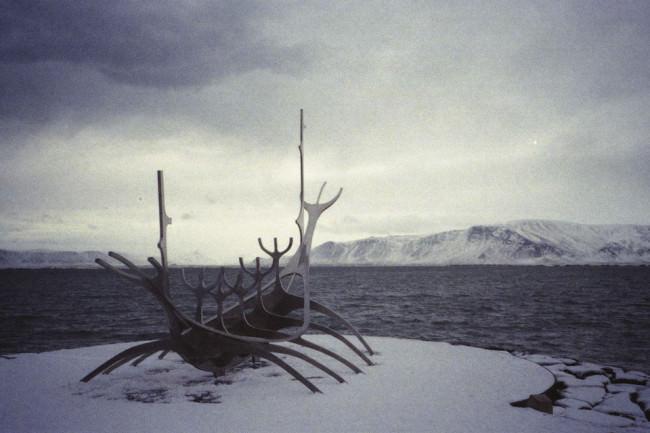 Küstenlandschaft in Island