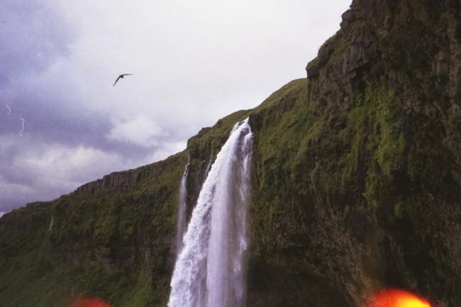 Ein Wasserfall