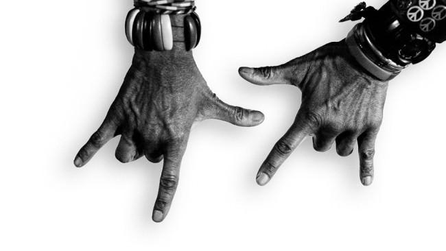 Die Hände des T.M. Stevens .