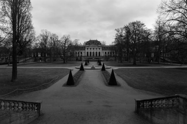 Orangerie und Schlosspark