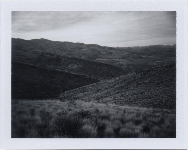 Schwarzweiß Landschaftsfoto
