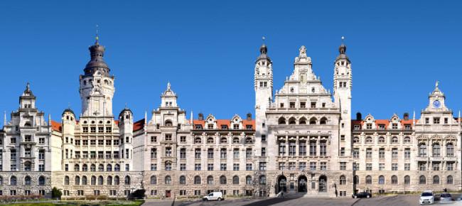 Das neue Leipziger Rathaus