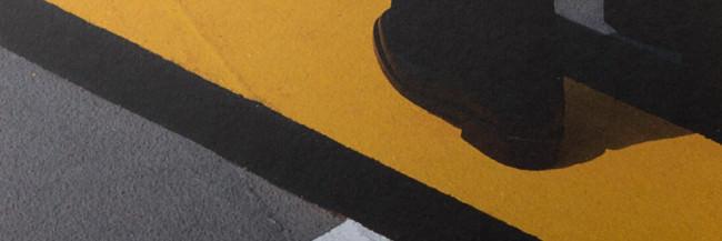 """Ausschnitt des Titelbildes des Fotobuches """"Hold The Line"""" von Siegfried Hansen"""