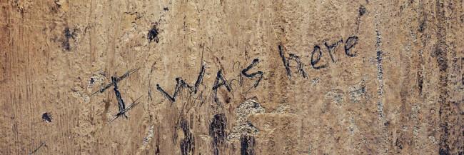 """Ausschnitt des Titelbilds von Buch """"I was here"""" von Ambroise Tezenas"""