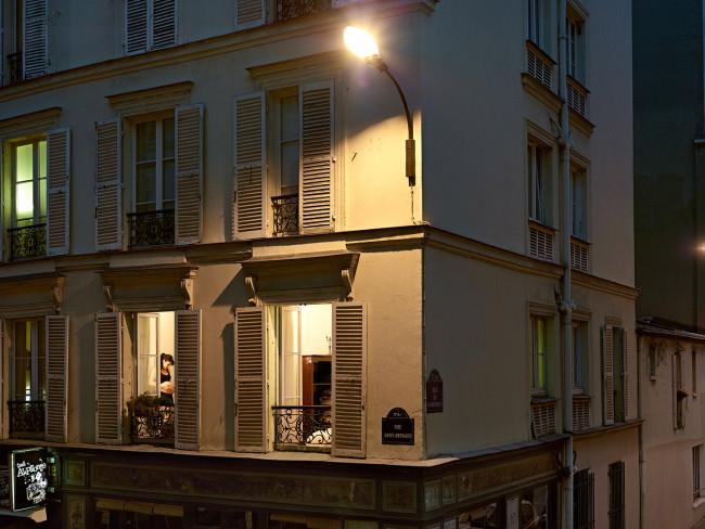Ein Blick in eine Wohnung in Paris.