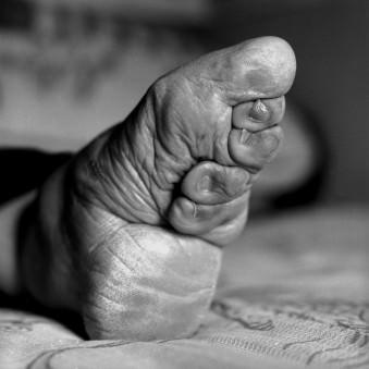 Gebundene Füße