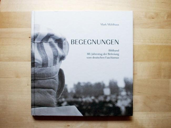 """Buchcover """"Begegnungen"""" von Mark Mühlhaus"""