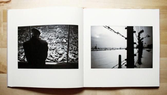 """Doppelseite im Buch """"Begegnungen"""" von Mark Mühlhaus"""