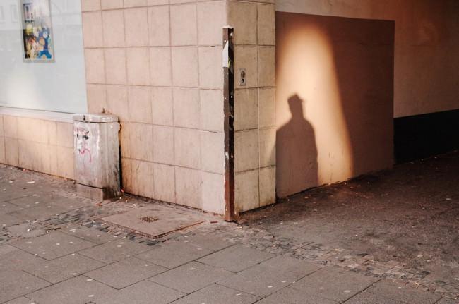 Schatten einer Person