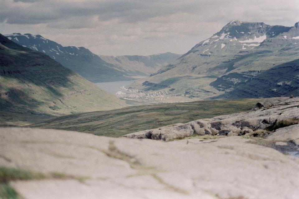Bild einer Landschaft