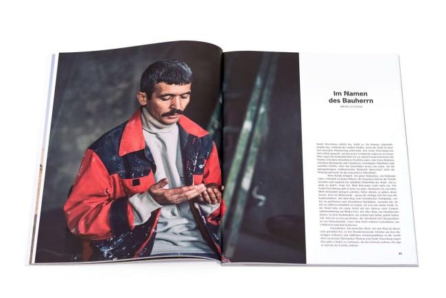 Einblick in das Magazin von emerge