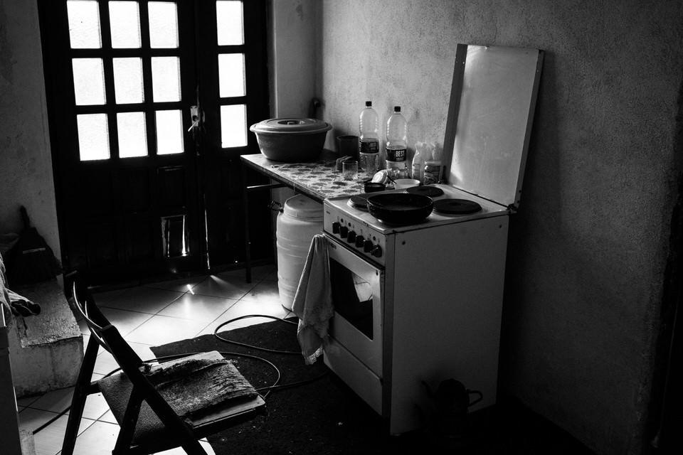 Blick ein eine Küche.