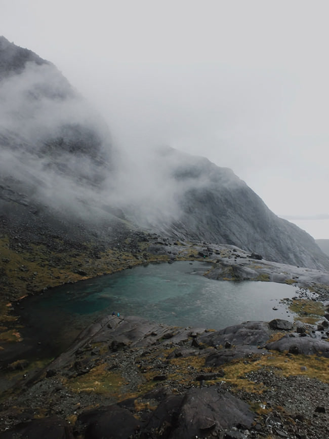 Landschaftsfoto aus Schottland