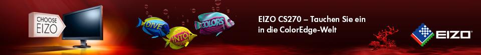 Werbe-Banner von Eizo