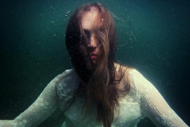 Ein Portrait Unterwasser