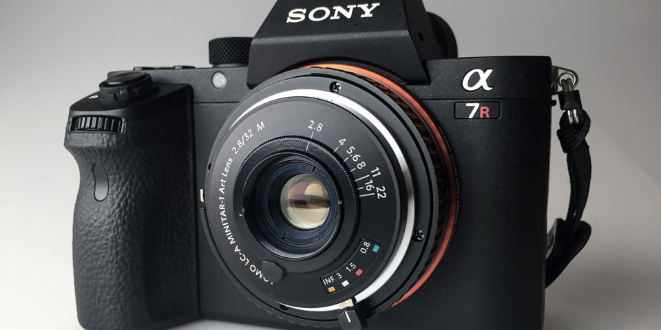 Lomo LC-A Minitar-1 Art an Sony A7II