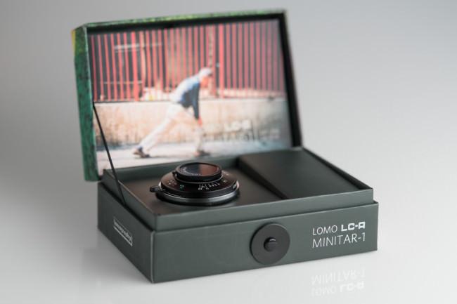 Lomo LC-A Minitar-1 Art Objektiv in Verpackung