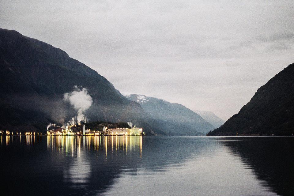 Unser Ausblick führt uns heute nach Norwegen.